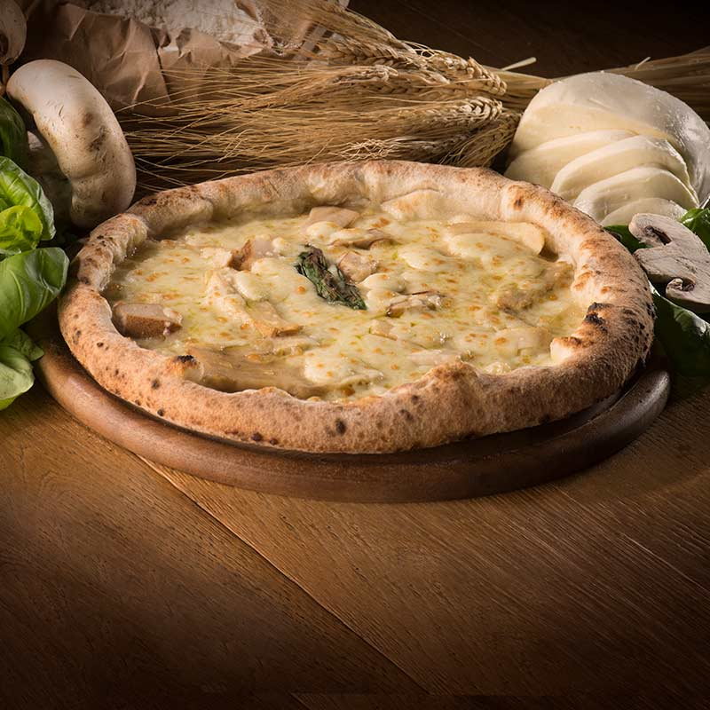 pizza porcini 'a pizza