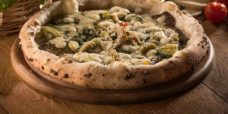 pizza vegetariana 'a pizza