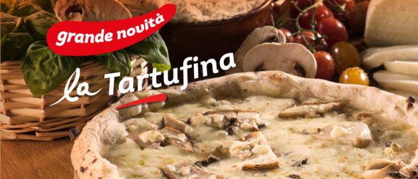 novita 'a pizza tartufina