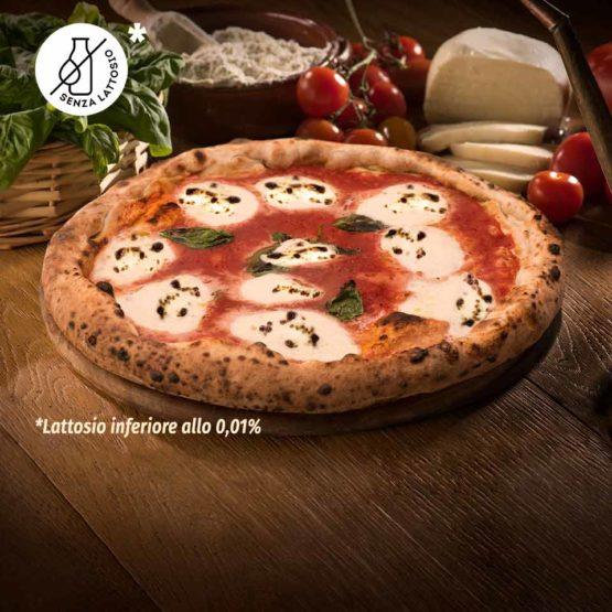Pizza Margherita Senza Lattosio 'A Pizza