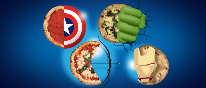 Pizze degli Avengers