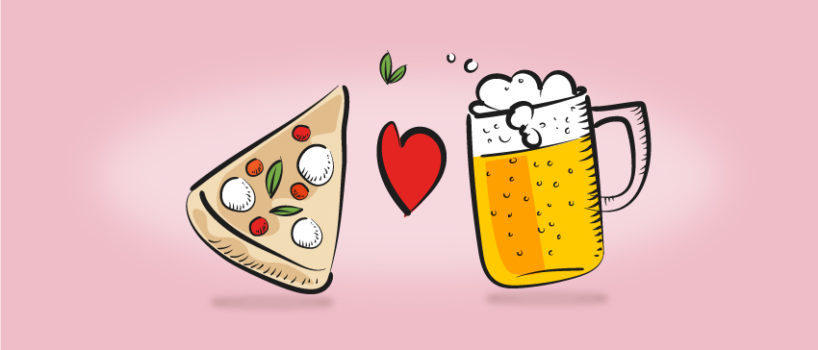 Abbinamento pizza e birra