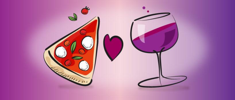 Come scegliere l'abbinamento pizza e vino